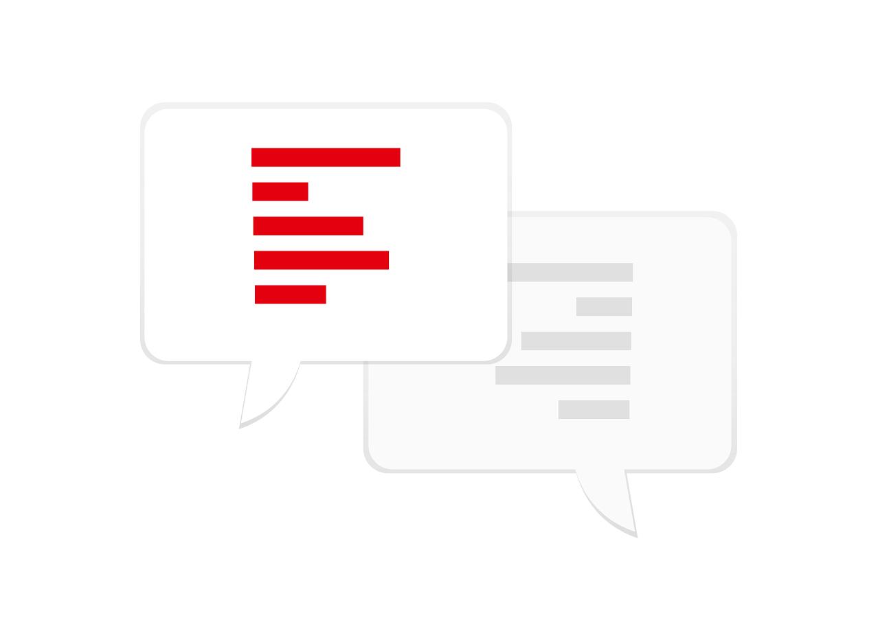 Te permite una comunicación más fluida con tus clientes