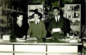 Mostrador Juan Flórez años sesenta.