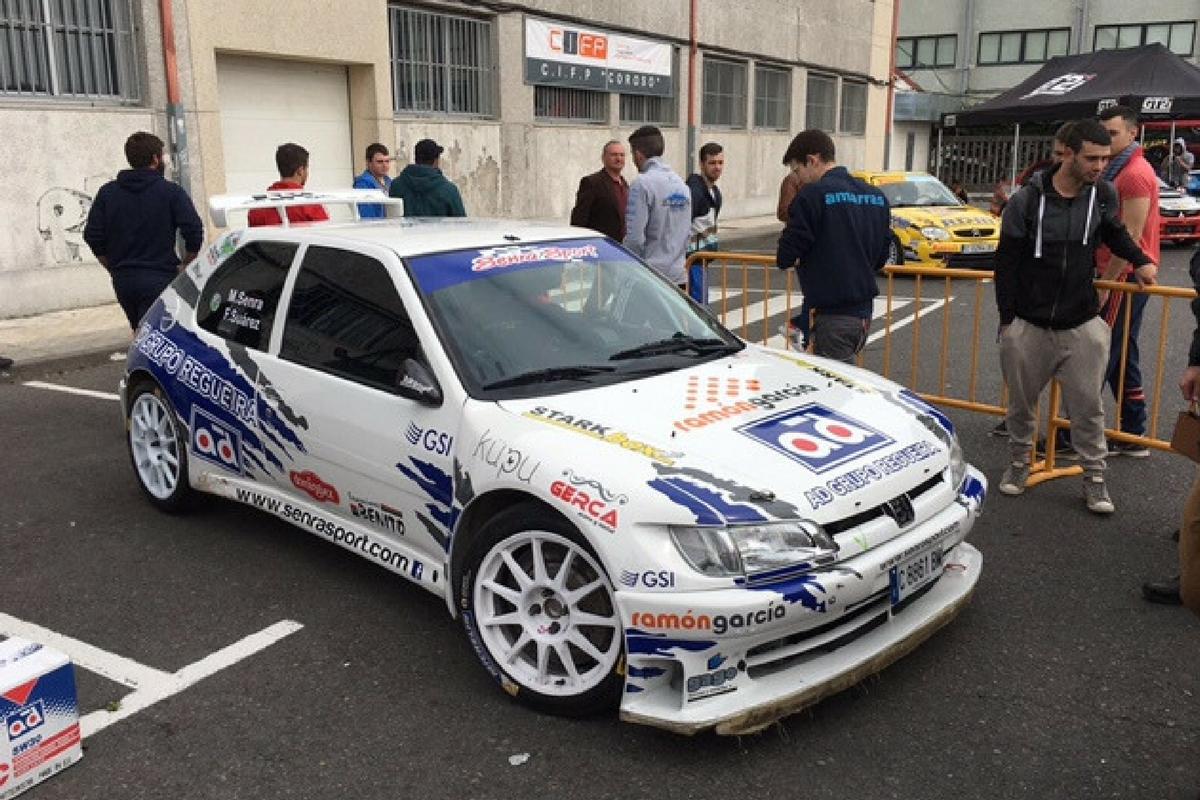 El coche de Manuel Senra