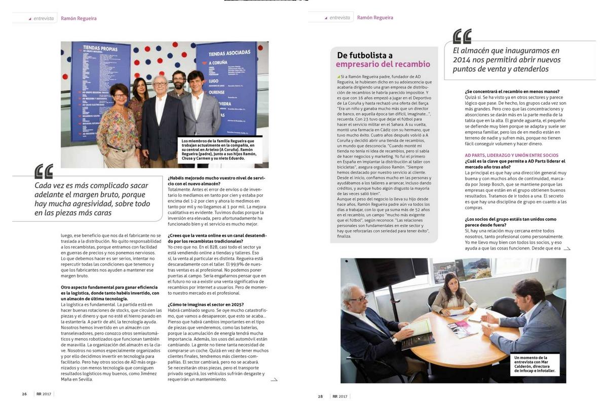 Entrevista AD Grupo Regueira